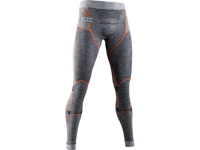 X-Bionic Apani 4.0 Pantalones Merino Hombre, black/grey/orange